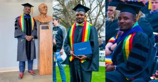 Ghanaian Studying Biochemistry In the U.S Graduates with Masters and PhD