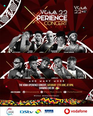 VGMA Xperience Concert slated for saturday 12th