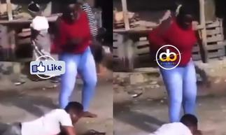 Heartbroken Boy lies Down To Beg His Girlfriend To Give Her Another Chance » GhBasecom™