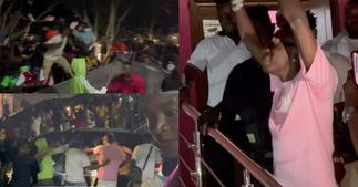 Shatta Wale's Fans Stormed UTV During His Clash With Arnold On McBrown's United Showbiz ▷ Ghana news