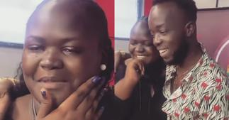 Fan Shares Emotional Tears After Meeting Akwaboah One on One » GhBasecom™