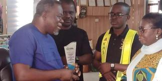Dr Kweku Oteng honoured by Ghana Revenue Authority