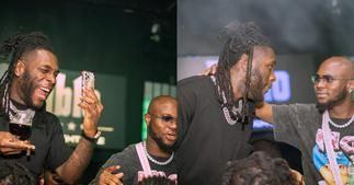 King Promise hangs out with Grammy winner Burna Boy in Nigeria; video drops ▷ Ghana news
