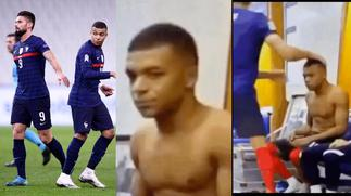 Simmering beef between France teammates, Olivier Giroud and Kylian Mpabbe takes a new twist after this bust-up on the pitch [Video] » GhBasecom™
