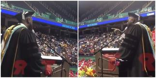 High school Principal Sings Whitney Houston's I Will Always Love You Beautifully to His Graduating Students ▷ Ghana news