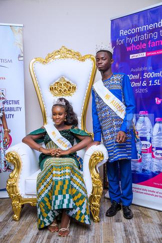 Mr & Miss Autism pageant crown winners