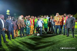 Vice President Bawumia commissions ultra-modern Adjiringanor Astroturf