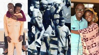 Happy Father's Day; Here's how Ghanaian celebrities are celebrating their fathers
