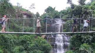 Kintampo Waterfalls zip-line is 85% complete