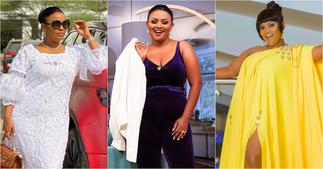 Nana Ama McBrown dazzles in couch photo; sets tongues wagging ▷ YEN.COM.GH