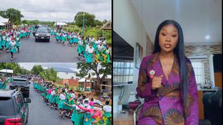 Efia Odo expresses disappointment at SHS student parading street to welcome Akufo-Addo » GhBasecom™