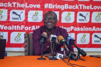 Coach CK Akonnor hopeful of Black Stars' improvement against Ivory Coast