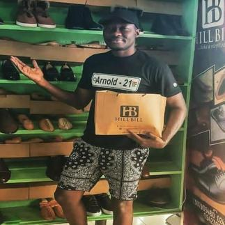 Blessing In Disguise- Arnold Bags Huge Shoe Ambassadorial Deal After Shatta Wale Claimed He Wears Cheap Shoes
