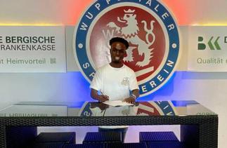 Lower-tier German side Wuppertaler SV signs Ghanaian defender Philip Aboagye