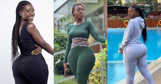 Internet sensation Hajia Bintu dazzles in 4 stunning photos; fans drool over them ▷ Ghana news