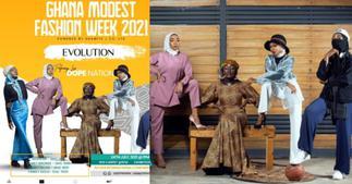 Ghana Modest Fashion Week 2021 Set For July 24; DopeNation To Perform ▷ Ghana news