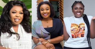 Linda Achiaa: Afia Schwar and Tracey Boakye Criticised 15 times for 'Ahushesh3' on Kwaku Oteng's new wife ▷ Ghana news