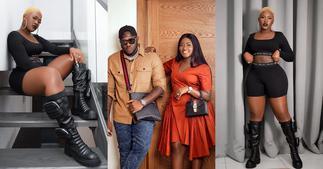 Fella Makafui: Actress Gets Her Husband Medikal Shouting Over New Hot Photos ▷ YEN.COM.GH