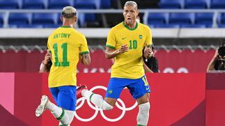 Tokyo 2020 men's football: Richarlison inspires Brazil, Spain held by Egypt