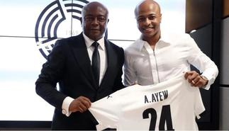 Andre Ayew follows in fathers foot steps after joining Qatari side Al Sadd