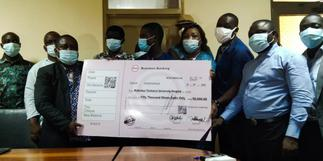 KTU TUTAG donates GHS 50,000 to support campus hospital project