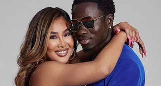 Michael Blackson re-unites with girlfriend, both agree to keep one side chick every month