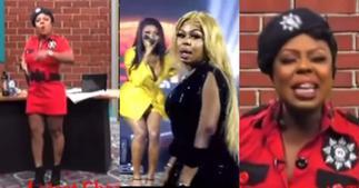 Old video of Afia Schwar jabbing Wendy Shay pops up ▷ Ghana news