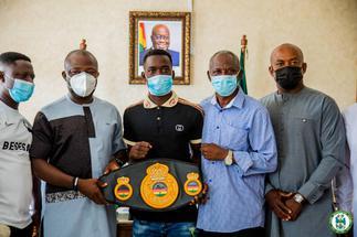 Vanderpuye, Accra Mayor charge John Laryea ahead of bout