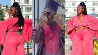 Hajia Bintu Causes Nigerian Comedian Mr Macaroni To Loose It With Her Latest Photos » GhBasecom™