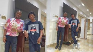 Check Out Moment Actor, Abraham Attah And Kwame Despite's Son, Saahene Having Wild Fun With Some Beautiful Ladies » GhBasecom™