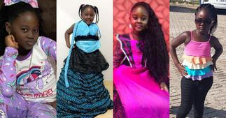 Malaika Lamptey: 8 Photos of Odartey Lamptey's First Daughter Proving she is Gorgeous at 7 ▷ Ghana news