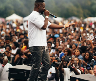 Sarkodie, Darkoo steals show at 'Ghana Party in the Park'