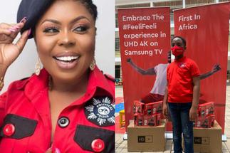 Afia Schwarzenegger Adds Her Voice To Oswald's 'Our Day', Says Ghanaians Glorify Stupidity » GhBasecom™