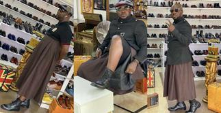 Poor Osebo Would Commit An Offence And Could Spend Up to 1 Year in Prison for All the Skirts He Wears Under Ghana's New 'Proper Human Sexual Rights and Ghanaian Family Values' Bill