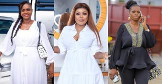 Afia Schwar pokes fun at Ayisha Modi with a new photo ▷ Ghana news