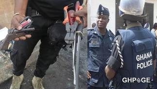 Police arrest suspected criminals in raid, retrieve weapons in Kumasi