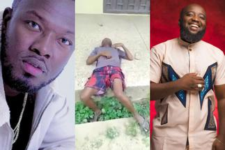 Reggie Zippy and Trigmatic react after video of ace producer Sugar Tone looking broke and drunk popped up » GhBasecom™
