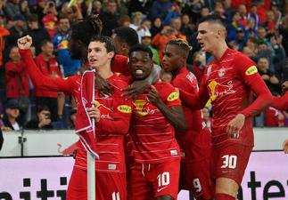 Red Bull Salzburg's Forson Amankwah cameos against Barcelona; provides assist in friendly win
