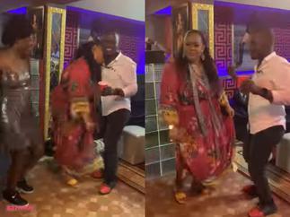 Lydia Forson Teases Zionfelix As He Grabs Vivian Jill In A Romantic Dance