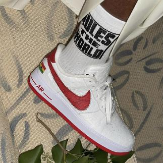 Ghanaian designer features national flag on new Air Force 1 sneaker