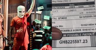 Sugar Kwami: Young Ghanaian Man Wins Over GHC225k With A Bet On Only 3 Matches ▷ Ghana news