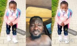 Funny Face fights over custody of his first 'secret' daughter based in Germany
