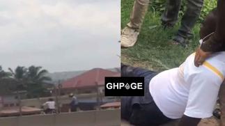 Another daylight robbery at Kwashieman; one shot