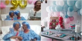 2 women who have been friends for 80 years celebrate as one of them turns 90 ▷ Ghana news