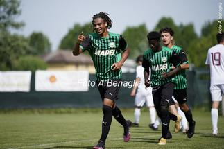 Ghanaian kid Justin Kumi scores for Sassuolo's U19 in Primavera Cup win