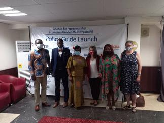 Policy on gender mainstreaming for Ghana's entrepreneurship ecosystem launched