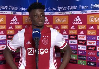 Ajax midfielder Mohammed Kudus 'feels good' following injury return