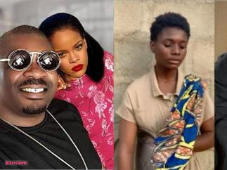 Don Jazzy Battles His Love Rihanna to Sign 17-Year-Old Street Hawker With Angelic Voice
