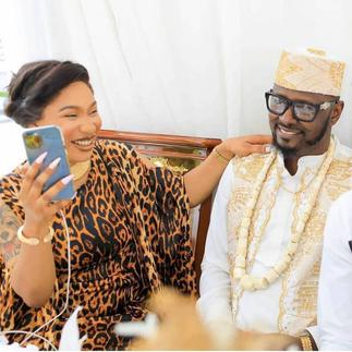 Tonto Dikeh's Ex She Claims Blackmailed her Has Sued Her for 10bn Naira