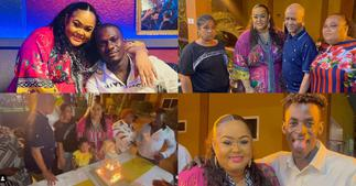 Vivian Jill: Kumawood Actress Holds 38th Birthday Party With Her Dad And Siblings ▷ Ghana news